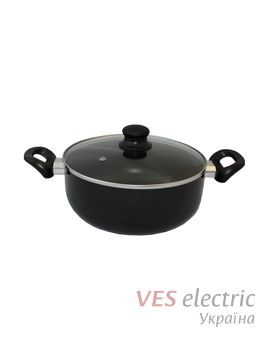 Кастрюля VITRINOR Vitral Black Induction 24 см
